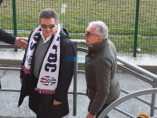 il presidente Sgubin e Carlo Sergi ieri a Verbania