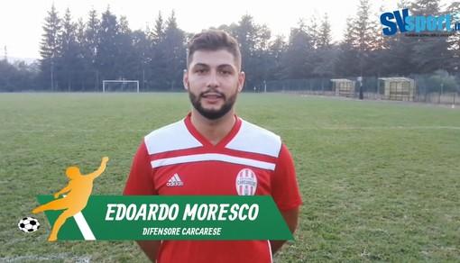 """Calcio, Carcarese. Edoardo Moresco dopo il ko di misura contro il Savona: """"Abbiamo tenuto bene il campo, con questa rosa puntiamo a un campionato di vertice"""" (VIDEO)"""