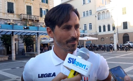 """Calcio, Savona. Grandoni tra obiettivi e linee guida: """"Il nostro obiettivo? Farci stringere sempre la mano"""" (VIDEO)"""