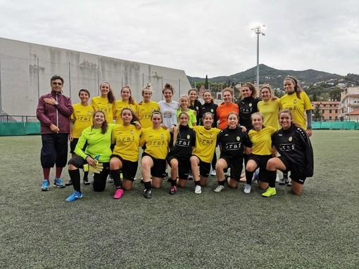 Calcio femminile: è iniziata la stagione 2019/20 dell'Alassio FC