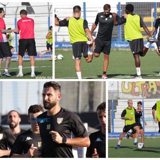 Calcio, Albenga: la fotogallery del secondo giorno di allenamenti