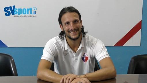 """Calcio, Vado. Loreto Lo Bosco guarda con fiducia alla stagione rossoblu: """"Gruppo sacro, costruiamo un mattoncino alla volta"""" (VIDEO)"""