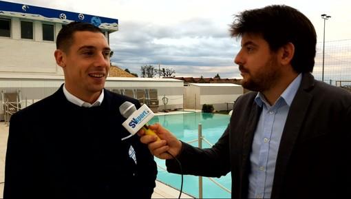 """Calcio, Albissola. Martignago non nasconde alcune trattative di mercato: """"Qualcosa c'è, ma ne parleremo con il presidente"""" (VIDEO)"""