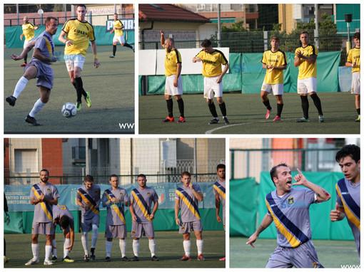 Calcio. Tris Serra Riccò alla Baia Alassio. La fotogallery del posticipo di Promozione