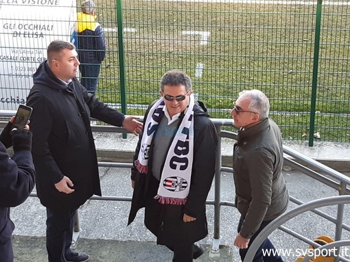 da sinistra Ivan Turola, il presidente Sgubin e Carlo Sergi, proprietario del 25% delle quote della Sana Sport & Management