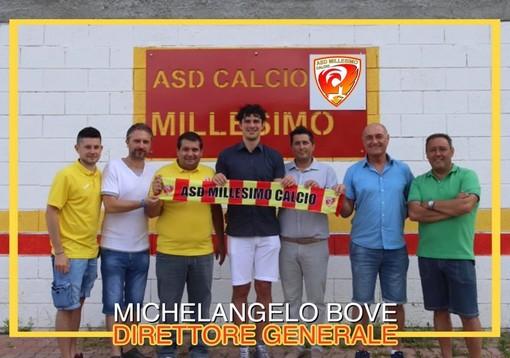 Calcio, Millesimo. Campo e scrivania per Michelangelo Bove, è il nuovo direttore generale giallorosso
