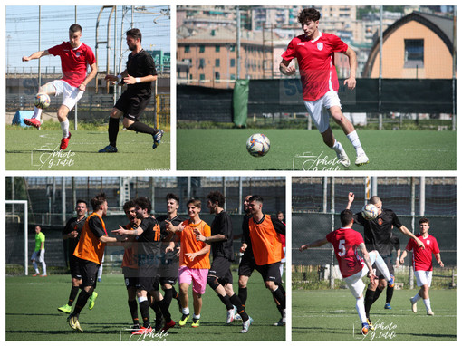 Calcio, playoff Promozione: Loanesi - Rivasamba negli scatti di Giulia Intili