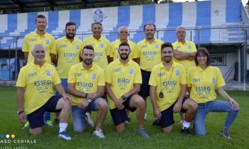 Il Ceriale Progetto Calcio ufficializza lo staff tecnico della Prima Squadra per la stagione 2019-2020