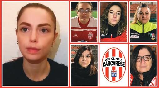 La Carcarese con Annalisa Scarrone per dire basta alla violenza sulle donne