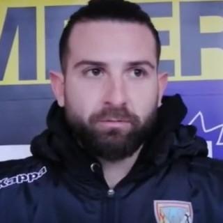 """Calcio, Albenga. Il gol da ex non basta a Nicholas Costantini per spingere gli ingauni al successo: """"Sulla rete di Sassari ci abbiamo messo del nostro. Gara particolare per me"""""""