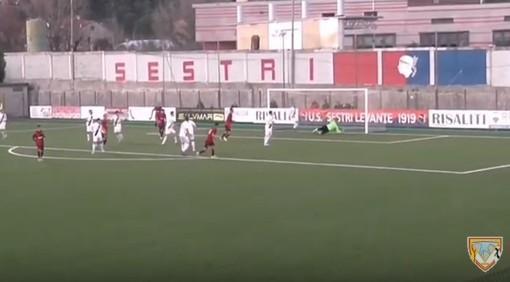 Calcio, Eccellenza: tutti i gol di Sestri Levante - Albenga (3-1) (VIDEO)