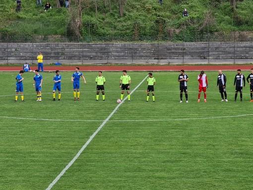Calcio, Eccellenza: la Cairese riacciuffa l'Albenga al 94'! Mille emozioni  al Brin