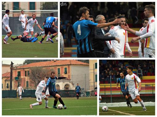 Calcio, Finale - Imperia: le immagini del match realizzate da Giulia Intili (FOTOGALLERY)
