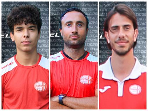 Calciomercato, Eccellenza. La Genova Calcio avrà ancora con se Francesco Maisano, Calvi e Orlando