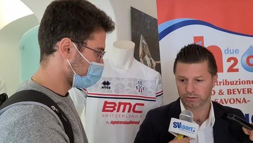 """Calcio, Asd Savona. Mister Cattardico è pronto per il campionato: """"Disagi limitati grazie all'impegno di tutti. Abbiamo bisogno dei tifosi per affrontare una stagione non scontata"""" (VIDEO)"""