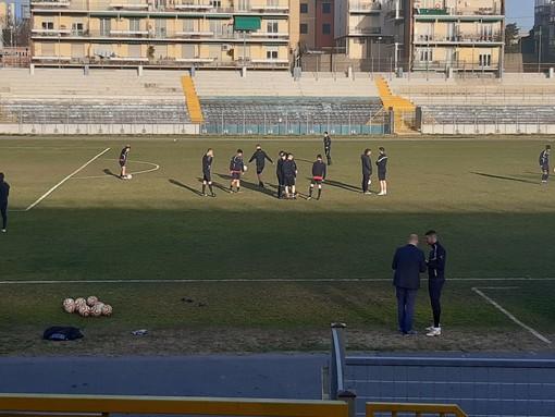 Calcio, Savona: confronto serrato negli spogliatoi del Bacigalupo, ma la squadra ha deciso di allenarsi