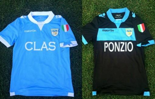 Calcio: Unione Sanremo, ecco le nuove maglie che verranno usate nel prossimo campionato