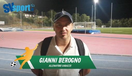 """Calcio, Varazze. Mister Berogno fa fatica a digerire la sconfitta con l'Arenzano: """"Il pareggio era il risultato più giusto"""" (VIDEO)"""