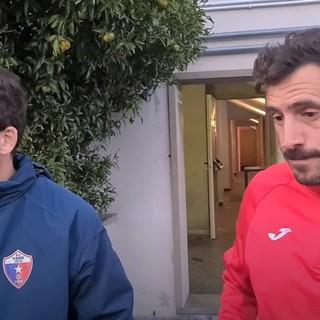 """Calcio, Vado. Gulli e Taddei promuovono la prova rossoblu. """"Strada giusta, bisogna però fare gol..."""" (VIDEO)"""