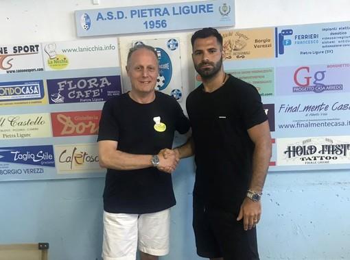 """Calcio. Pietra Ligure, colpo in attacco: ecco Amerigo """"Lenny"""" Castagna"""