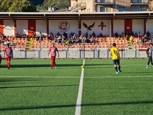 Calcio, Coppa Liguria di Prima Categoria: tris e passaggio del turno per il Q&V, Letimbro quasi mai in partita