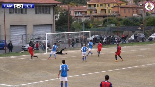 Calcio, Camporosso - Ceriale la decide Casellato (1-0). Gli highlights del match (VIDEO)