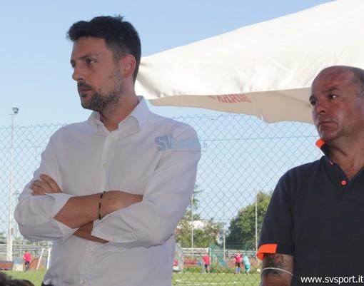 il ds Sonetti e il tecnico Luca Tarabotto