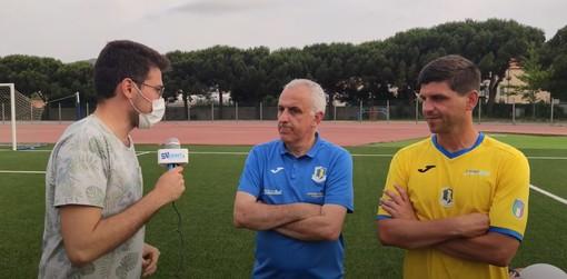 """Calcio. Orgoglio Cairese nonostante la sconfitta, Benzi: """"Al posto nostro avrebbero dovuto esserci altre squadre"""". E Alessi non molla: """"Non ce la faccio a smettere"""" (VIDEO)"""