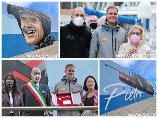Grande festa per Pietro Sibello. La fotogallery dalla Marina di Alassio