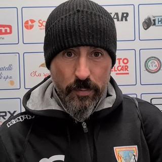 """Calcio, Albenga. Grandoni vuole girare subito pagina: """"Resettiamo, oggi i ragazzi hanno dato il massimo"""" (VIDEO)"""