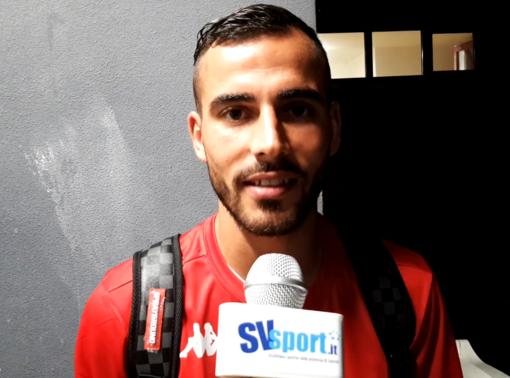 """Calcio, Albenga. Ruffo bum bum, e i bianconeri volano in semifinale di Coppa: """"Giocando insieme alla squadra diventa tutto più facile"""" (VIDEO)"""