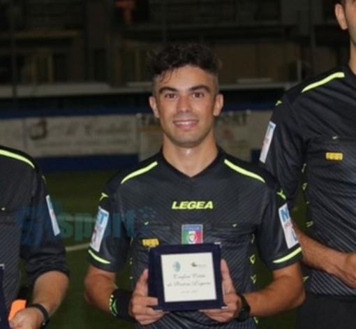 Calcio, Coppa Liguria di Prima Categoria. Gli arbitri della seconda giornata, Semini per Ssvona - Vadese