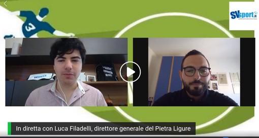 """Calcio, Pietra Ligure. Il nuovo dg Filadelli traccia i confini della prossima stagione: """"Pisano vogliamo tenercelo stretto, non sono per rivoluzionare le squadre di anno in anno"""" (VIDEO)"""