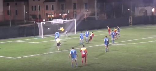 Calcio, Albenga - Pietra Ligure 6-1: rivediamo le doppiette di Figone, Metalla e Marquez nella sintesi del match
