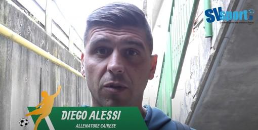 """Calcio. Si allontana la semifinale di Coppa per la Cairese. Alessi: """"Gli errori si pagano, felici di aver ritrovato Piacentini"""" (VIDEO)"""