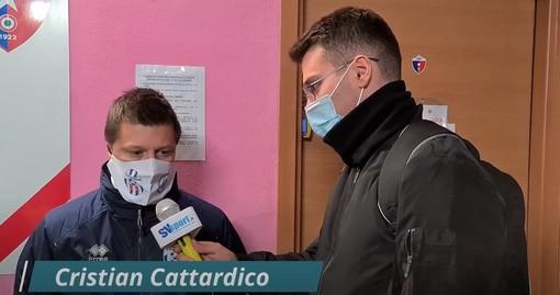 """Calcio, Asd Savona. Cristian Cattardico suona la sveglia: """"Con questo atteggiamento non si vincono i campionati, i giocatori di qualità devono dare di più"""" (VIDEO)"""