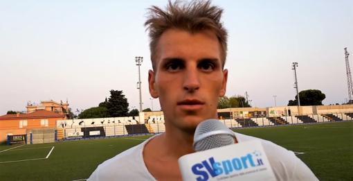 """Calcio, Albenga. Pierfrancesco Figone si presenta al meglio: """"Abbiamo ricevuto il giusto premio dopo gli sforzi della preparazione"""" (VIDEO)"""