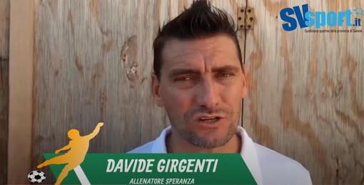 """Calcio, Speranza. Condizione fisica ed emozione non hanno aiutato contro il Savona. Mister Girgenti: """"Sconfitti, ma è una tappa utile nel nostro percorso di crescita"""" (VIDEO)"""