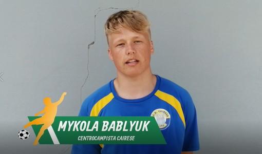 """Calcio, Cairese. Bablyuk regala l'andata ai gialloblu: """"Gara preparata al meglio. Ora una nuova battaglia per il ritorno"""" (VIDEO)"""