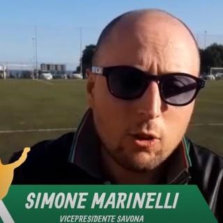 Calcio, Savona. Simone Marinelli a tutto tondo dopo la vittoria con lo Speranza, tra mercato, squadra e anticipi del sabato (VIDEO)