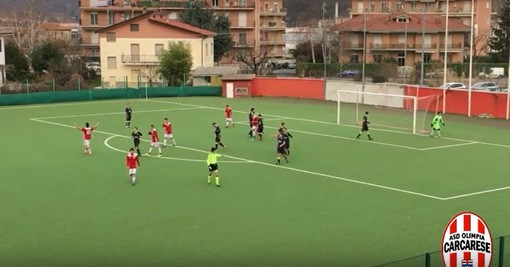 Calcio, Prima Categoria: riviviamo Olimpia Carcarese - Millesimo negli highlights dell'anticipo di Prima Categoria (VIDEO)
