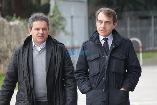 il presidente Sgubin e l'avvocato Fabio Sergi