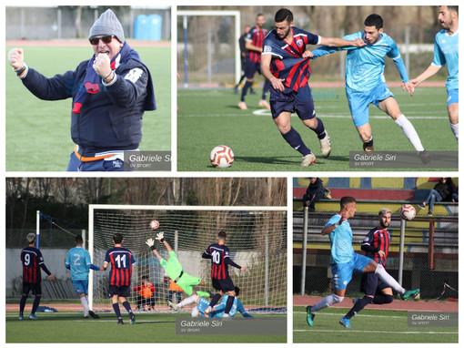 Calcio, Vado - Sanremese: il tris rossoblu ai matuziani negli scatti di Gabriele Siri (FOTOGALLERY)
