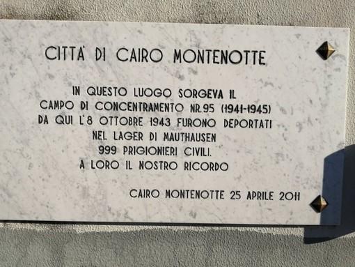 In ricordo dei quasi mille deportati dal campo di concentramento di Cairo Montenotte