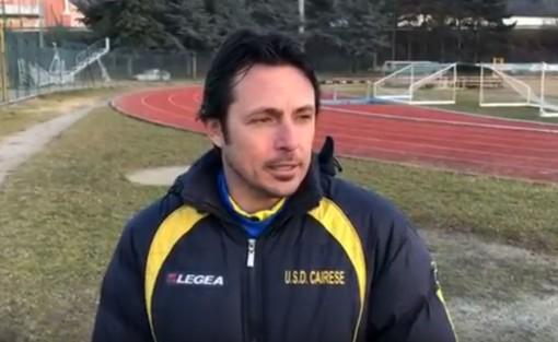 """Calcio, Cairese. Solari non vuole mollare dopo il secondo pareggio consecutivo: """"Dobbiamo rimanere agganciati al treno promozione"""" (VIDEO)"""