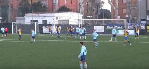 Calcio, Juniores girone A. Quiliano&Valleggia superato dalla Dianese&Golfo, gli highlights del match