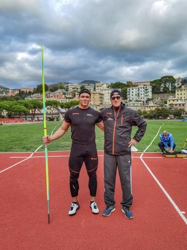 Atletica Arcobaleno. Giavellotto, nuovo record regionale per Denis Canepa