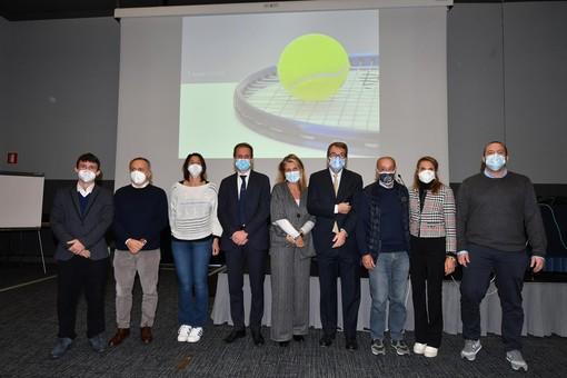 il consiglio regionale ligure della federazione tennis presieduto da Andrea Fossati
