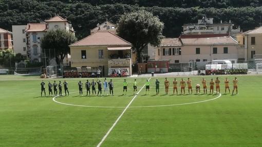 """Calcio, Eccellenza. Finale e Albenga non si fanno male: 1-1 al """"Borel"""" ed entrambe qualificate ai quarti"""