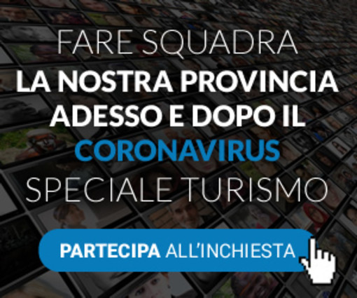 """Parte """"Fare Squadra"""": 4 inchieste per fotografare senza filtri la provincia di Savona e creare progetti nel dopo Coronavirus. Dicci la tua su """"Turismo"""", prossimamente parola anche allo sport"""